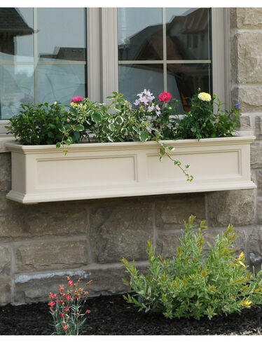 window box fairfield self watering window flower boxes. Black Bedroom Furniture Sets. Home Design Ideas