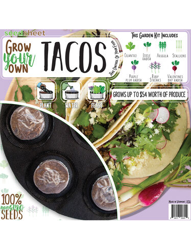 Grow Your Own Tacos Seedsheet