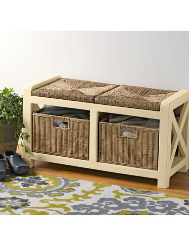 2-Seat Mud Room Bench