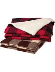 Woolrich Sherpa Rough Rider Blanket