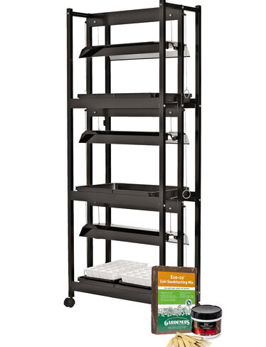 Compact 3-Tier SunLite ® Garden with Jump Start Kit