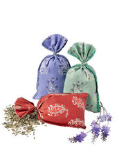 French Lavender Sachets, Set of 3