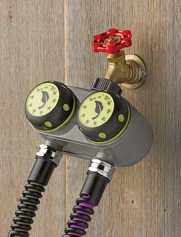 Dual Manual Water Timer Drip Irrigation Controller
