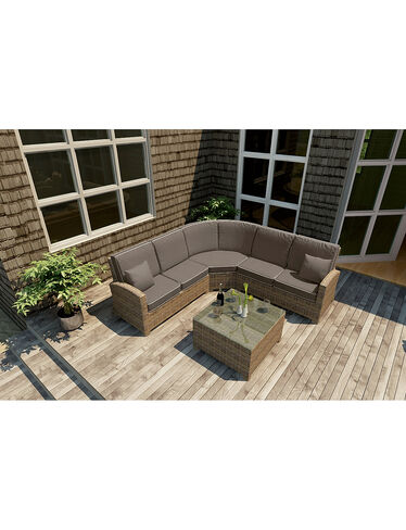 Cypress Sectional Set