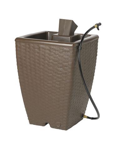 Basketweave Rain Barrel