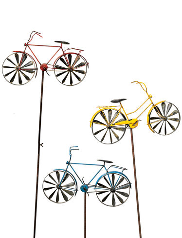 Bicycle Stakes, Set of 3