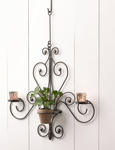 Chandelier Plant Candle Holder