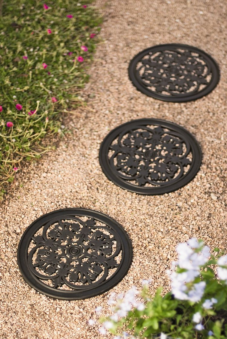 Decorative Rubber Stepping Stones Buy from Gardeners Supply