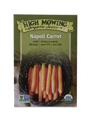Napoli Carrot Organic Seeds