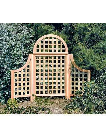 Andover Cedar Landscape Screens, Natural