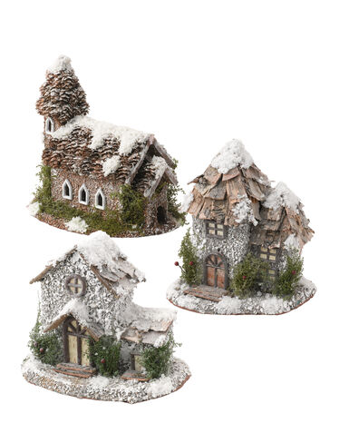 Winter Fairy House