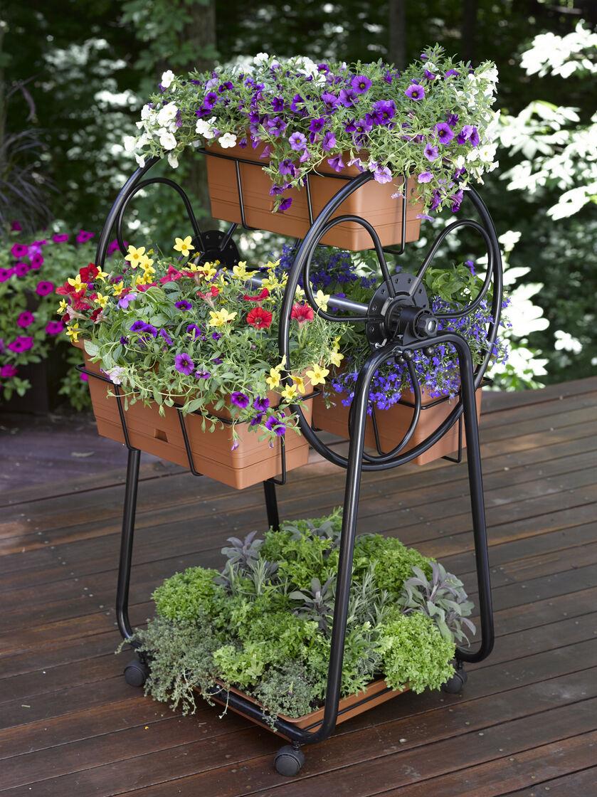 ferris wheel planter - Decorative Planters