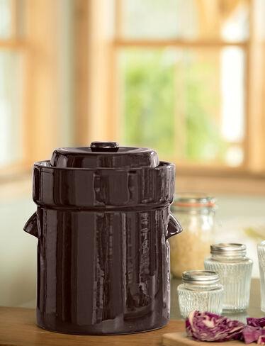 Complete Fermentation Crock, 2.5 Gallon