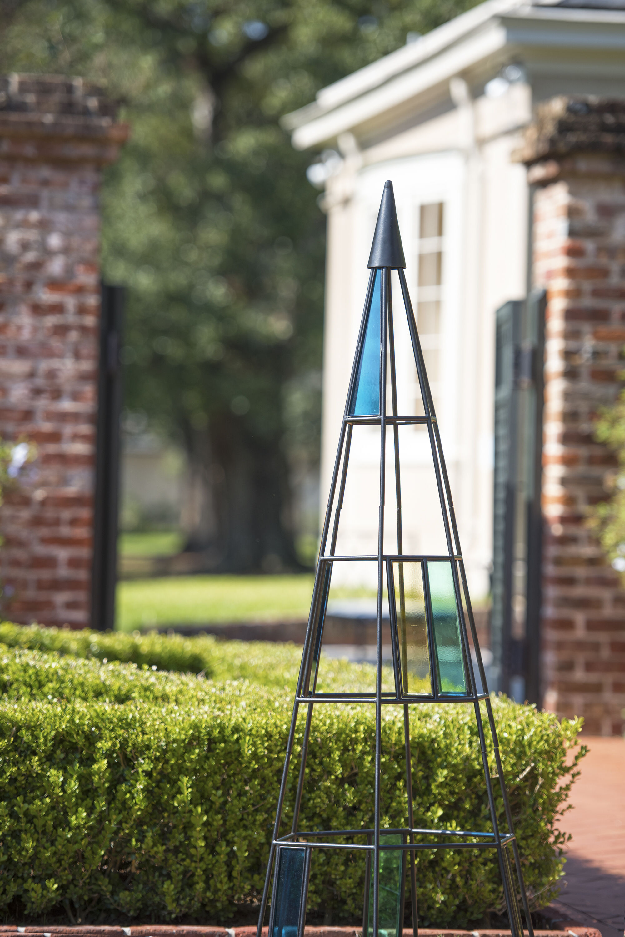 Mail order catalog home decor - Kaleidoscope Obelisk