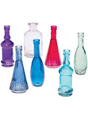 Mini Bottles, Set of 7