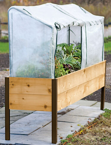 *Greenhouse Cover, shown with Elevated Cedar Planter Box, sold separately