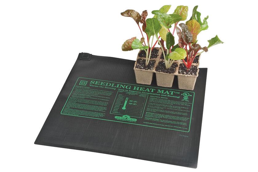 Seed Starting Heat Mat Heat Mats In 3 Sizes Gardener S