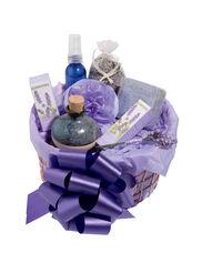Lavender Copper Gift Basket