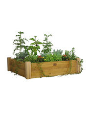 4' x 4' Rustic Cedar Raised Bed