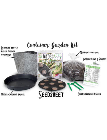 Grow Your Own Tacos Container Garden Kit