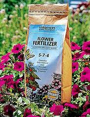 Gardener's Best® Flower Fertilizer