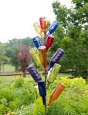 Rainbow Bottle Tree Set