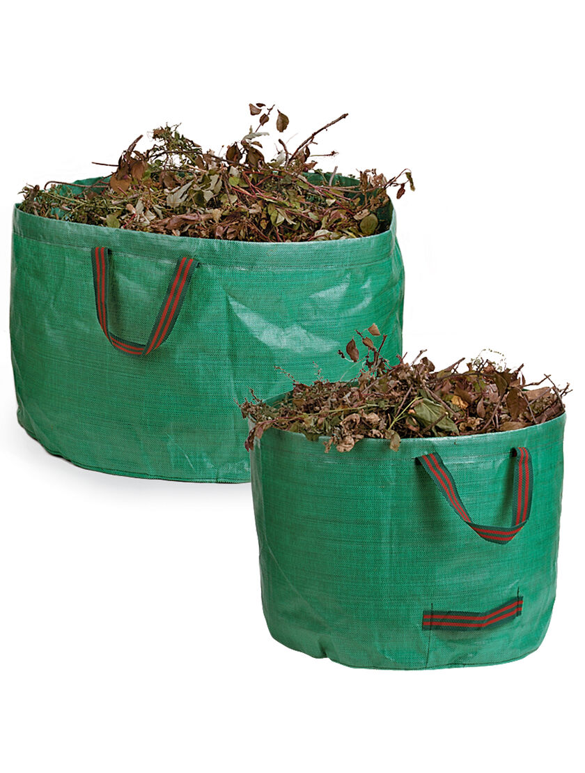 Leaf Bags Garden Tip Bags Collapsible Leaf Bags