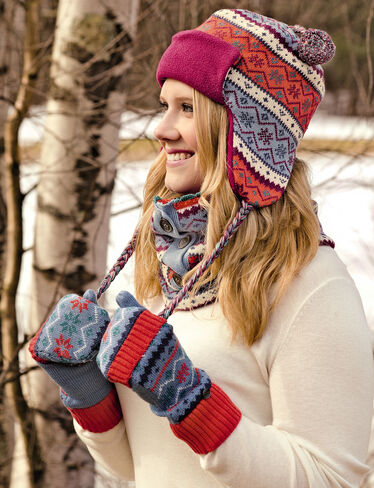 Fair Isle Gloves & Neckwarmer
