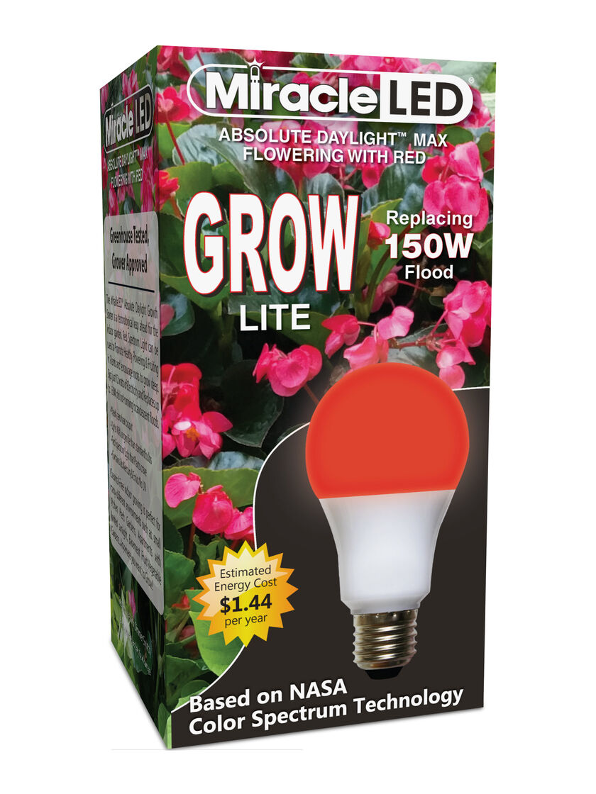 Full Spectrum Led Grow Lights Miracle Led 174 Red Bulb