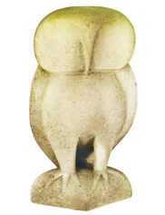 Contemporary Owl Garden Statue