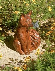 Curious Fox Statue
