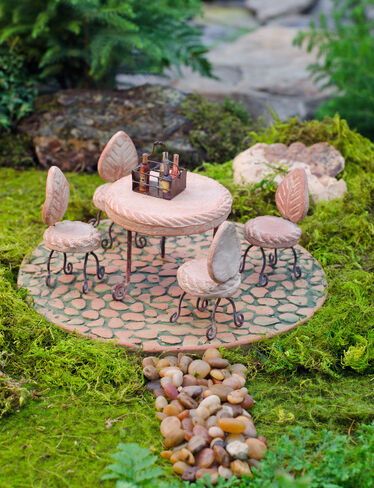 Fairy Garden Dining Set and Patio