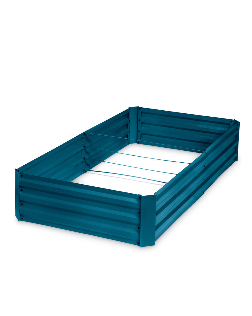 Demeter corrugated metal raised bed 34 x 68 for Corrugated metal raised garden beds