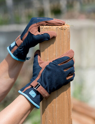 Women's Denim Garden Gloves
