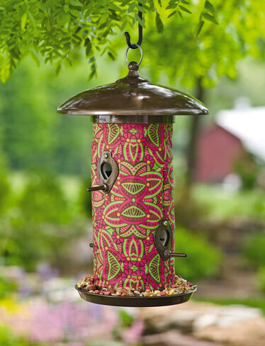 Hanging Art Birdfeeder