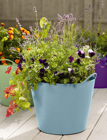 Self-Watering TubTrug Planter