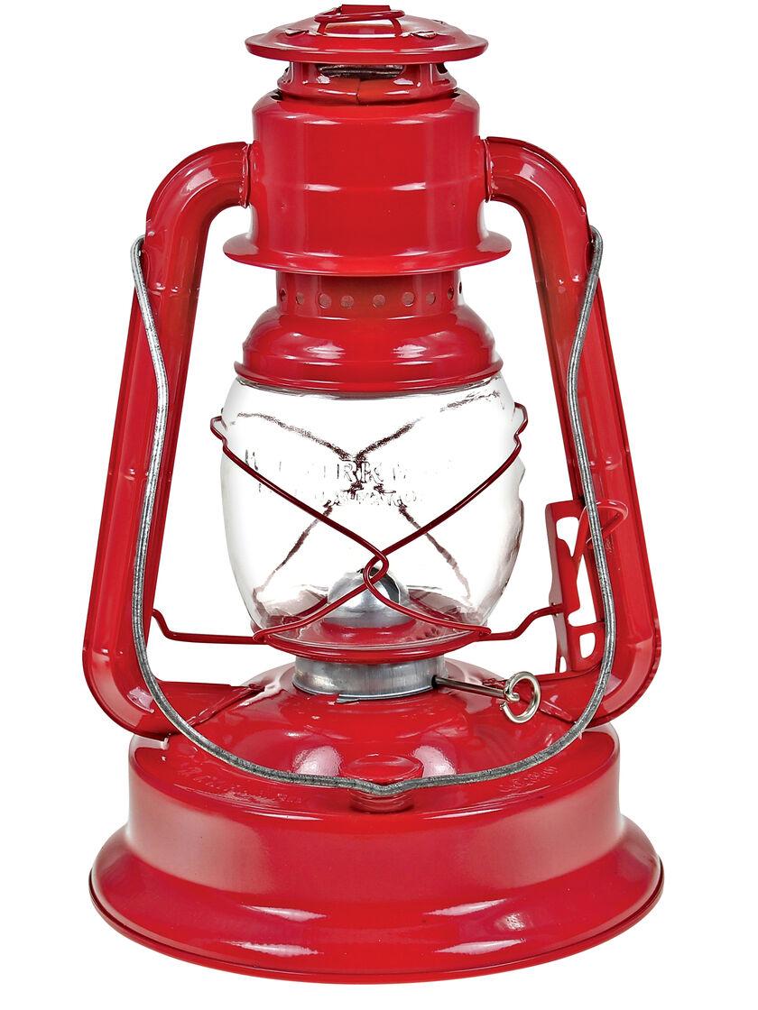 Small Oil Lantern: Little Giant Oil Lantern in Red by Kirkman