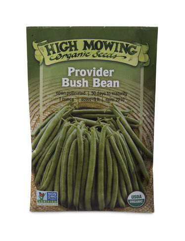 Provider Bush Bean Organic Seeds