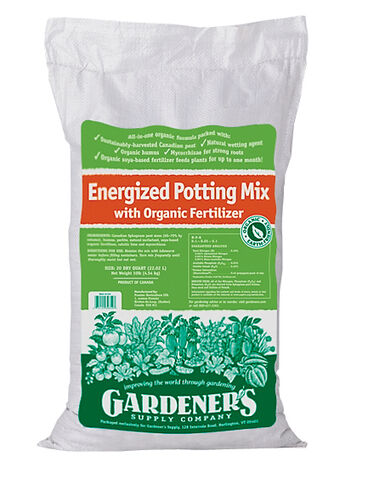 Organic Energized Potting Mix, 20 Qts.