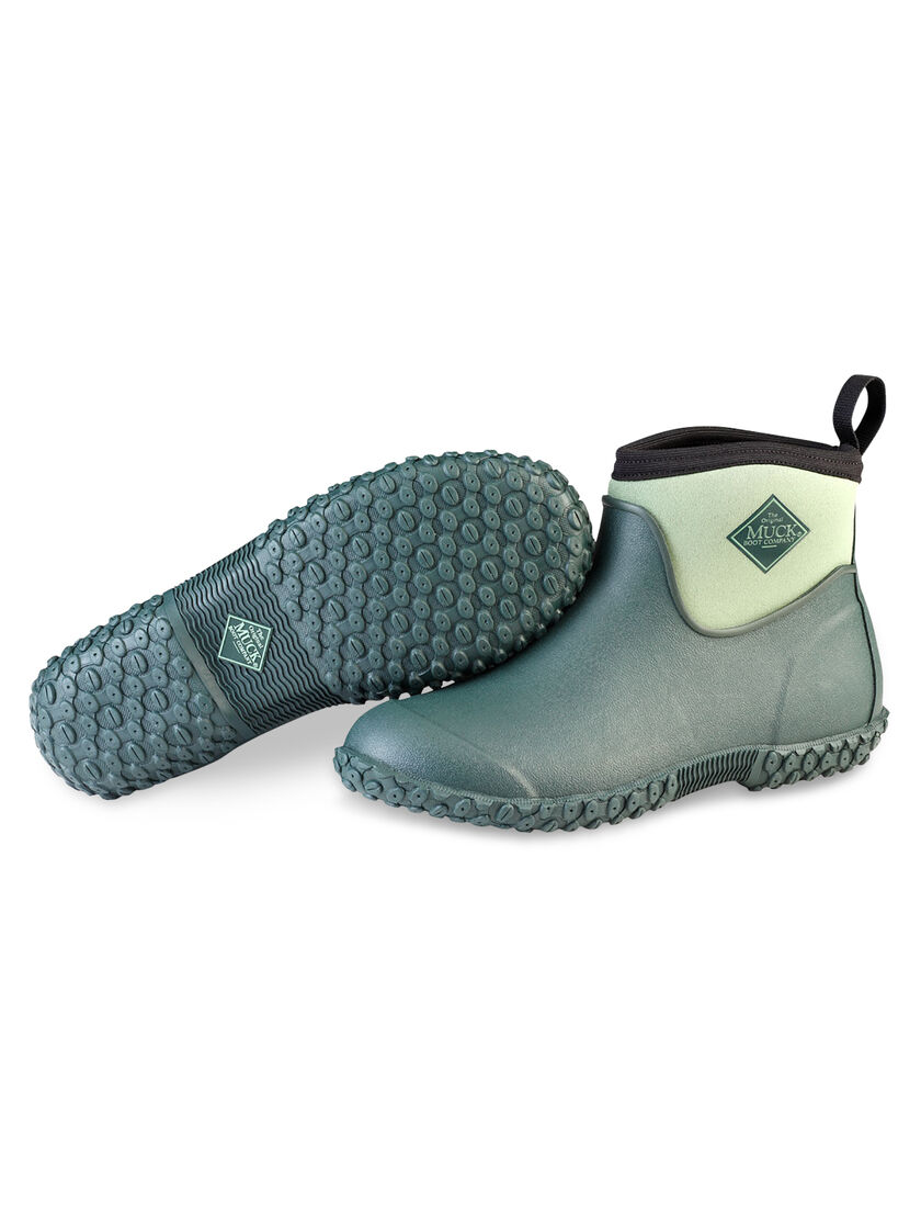 Gardening Boots Waterproof Pull On Ankle Boots Womens Muckster II