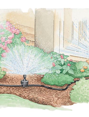 garden sprinkler system buy from gardener 39 s supply
