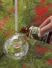 Snowflake Scent Diffuser Bubble w/Balsam Oil