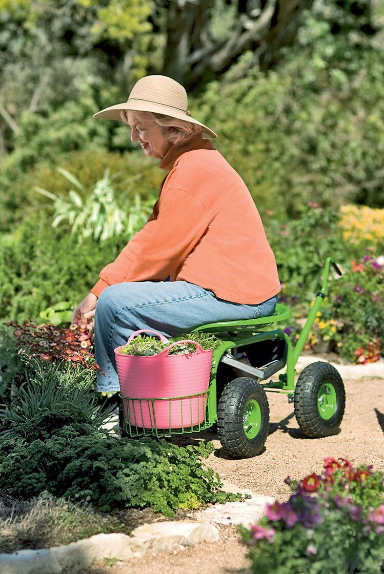 Garden Scoot Basket Buy From Gardener 39 S Supply