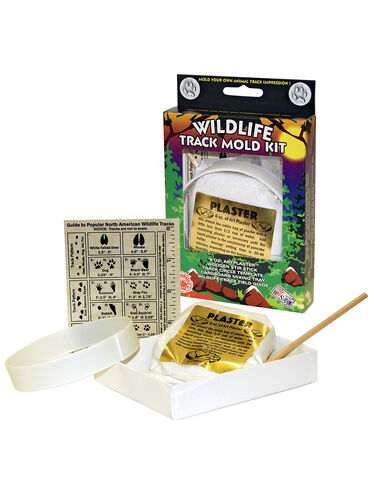 Wildlife Track Mold Kit