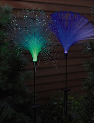 Fiber Optic Solar Light
