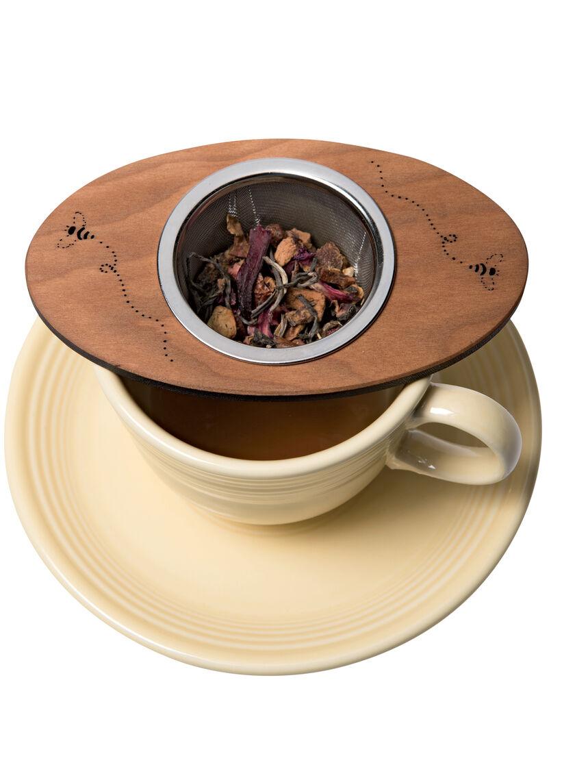 Loose Leaf Tea Strainer Stainless Steel Amp Cherry Bee