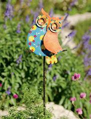 Calico Owl Stake