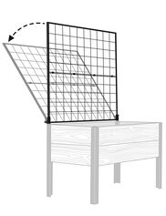 *Shown with Elevated Cedar Planter Box, sold separately.
