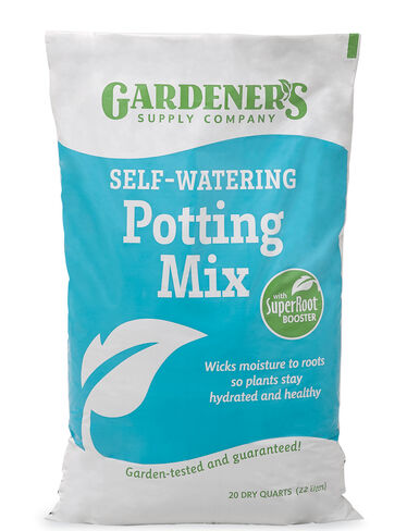 Self-Watering Potting Mix, 20 Qts.