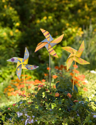 Old-Fashioned Pinwheels, Set of 3